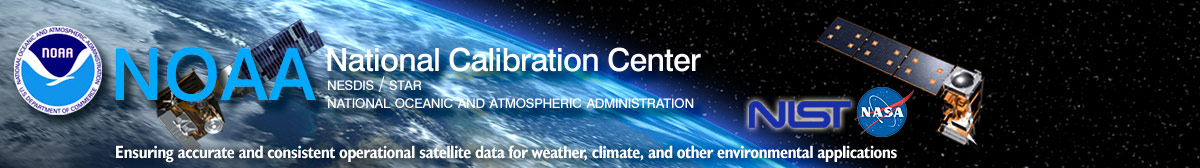 National Calibration Center banner